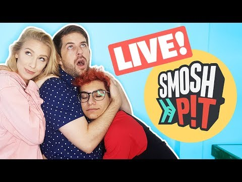 SMOSH PIT HYPE PARTY!! (The Show w/ No Name - LIVE)