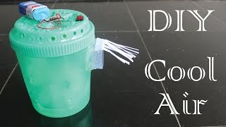 How To Make Mini Air Cooler Using Plastic Bottle For Face At Home Easy DIY