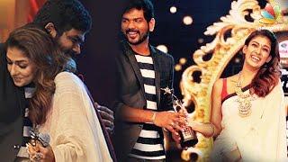 Nayanatara hugs Vignesh Sivan and receives SIIMA awards | Winners List 2016
