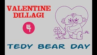 Valentine Dillagi 4 | Teddy Bear Day Whatsapp Status Video | Valentine Love Story Status