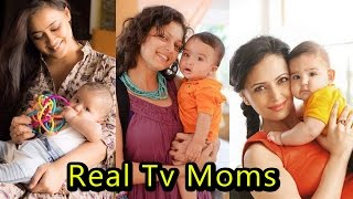 Top 8 Tv Actress With Their Real Kids | 2017