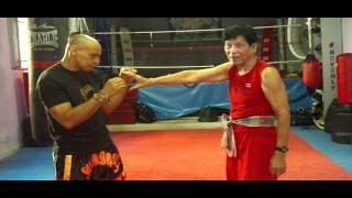 tecnicas de khao mae mai muay thai com maestro pratin e maestro pako.
