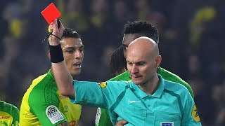 French football referee banned after kicking out!
