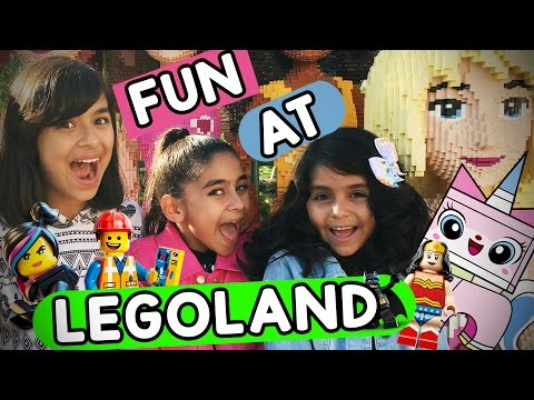 Legoland VLOG IT GEM Sisters