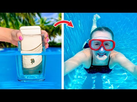 12 Simple And Funny Pool Hacks And Games Pool Pranks
