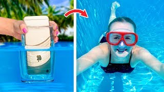 12 Simple And Funny Pool Hacks And Games / Pool Pranks