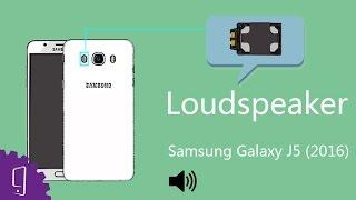 Samsung Galaxy j5 2016 loudspeaker repair guide
