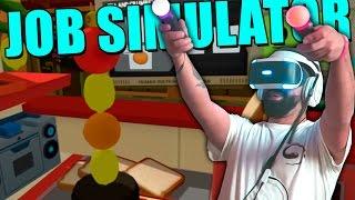 A TORRE EIFFEL DAS SANDES !!!  | JOB SIMULATOR PLAYSTATION VR PSVR