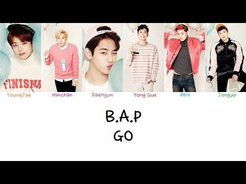 B.A.P - Go (Color coded lyrics Han|Rom|Eng)