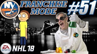 """NHL 18 Franchise Mode - New York Islanders #51 """"Theory Crafting & Experimenting"""""""