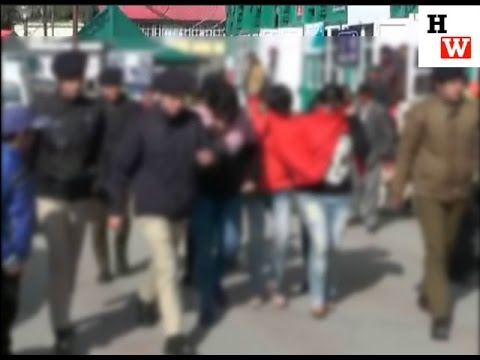 Shimla Police raids private hotel in Kaithu and arrests call girls and main accused