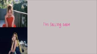 Jessica - Falling Crazy in Love (English Version) [Lyrics]