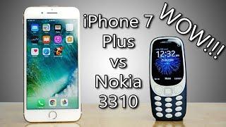 Nokia 3310 FASTER than iPhone 7 Plus? WOW!!! Speedtest Comparison!