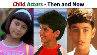 Bollywood Child Actors Then & Now