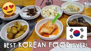 THE BEST KOREAN FOOD EVER! | Vlog #176