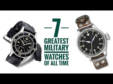 Xxx Mp4 7 Greatest Military Watches Of All Time Armand The Watch Guy 3gp Sex