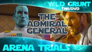 META CHANGING? Grand Admiral Thrawn and General Kenobi in Arena Trials | Star Wars Galaxy of Heroes