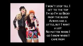 Becky G - Becky From The Block Lyrics