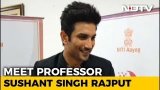 I May Just Start Teaching, Who Is To Tell: Sushant Singh Rajput