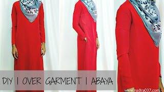 Nadira037   DIY   Easy   Overgarment    Abaya