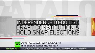 Independence To-Do List: What Catalonia needs to do if it breaks away from Spain