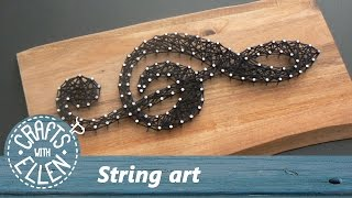 How to make string art | Tutorial