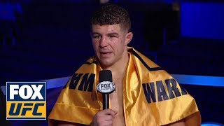 Al Iaquinta speaks after defeating Kevin Lee | INTERVIEW | UFC on FOX