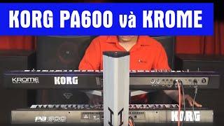 Demo KORG PA600 và KROME