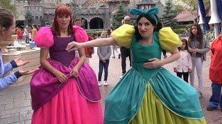 Anastasia and Drizella Marriage Proposal at Disneyland Paris - Meet & Greet Cinderella Stepsisters