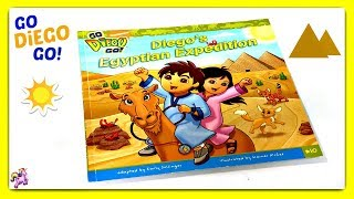 """GO DIEGO GO! """"DIEGO'S EGYPTIAN EXPEDITION"""" - Read Aloud 