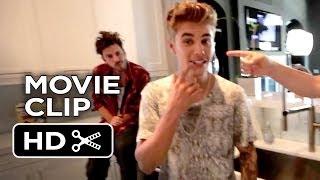 Justin Bieber's Believe Movie CLIP - Stache (2013) - Justin Bieber Documentary HD