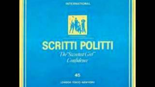 Scritti Politti - The Sweetest Girl