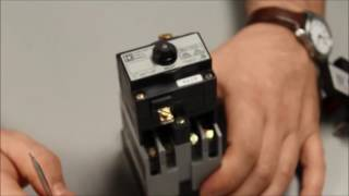 Resetting the Latching Mechanism on Square D® 8501 Type X Relay | Schneider Electric Support
