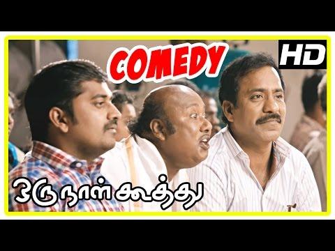 Oru Naal Koothu Tamil movie | comedy scenes | Dinesh | Karunakaran | Charle | Bala Saravanan