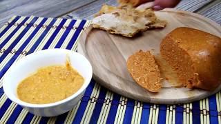 CHEDDAR CHEESE - VEGAN, NO NUTS, AGAR AGAR - optional, NO GLUTEN, NO BAD FATS
