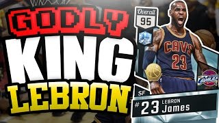 NBA 2K17 MYTEAM DIAMOND LEBRON JAMES GAMEPLAY! HE DOMINATES EVERYTHING IN HIS PATH!