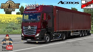 [ETS2 v1.32] New Mercedes Actros Plastic Parts + ALL DLC´s ready