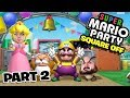 Super Mario Party Square Off Mode Part 2 - Funhaus Gameplay
