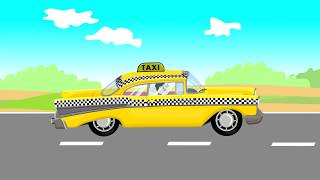 Auto Taxi | Formation and uses | Video For Kids - Kreskówki Dla Dzieci - Taxi