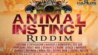 ANIMAL INSTINCT RIDDIM MIX (JAN 2013) KURT RILEY/TECHNIQUES RECORDS @DEEJAYHELLRELL