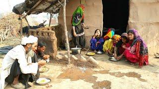 Indian Gujjar village Family❤Village life of Punjab/India❤Rural life of Punjab/India/ Pind life
