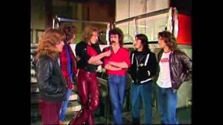 Saga 1981 - TV Interview - Westfalenhalle Dortmund