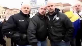 """""""Ať zmizí ti Židi, všechny podřezat!"""", demonstrace Islám v České republice nechceme, 14.3.2015"""