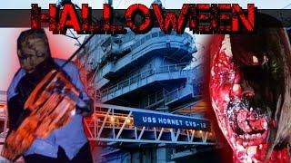 HAUNTED AIRCRAFT CARRIER - Halloween Maze