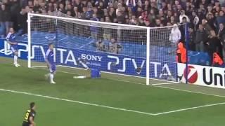 Chelsea F.C. 1-0 Barcelona F.C. Highlights 18/04/2012