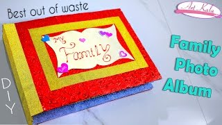 How to make photo album at home   photo books   Best out of waste   DIY   Artkala 150