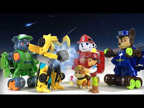 Paw Patrol TRANSFORMERS Save Bumblebee Playtime with Keith s Toy Box