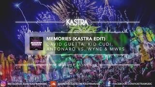 David Guetta & Kid Cudi - Memories (Kastra Edit) | MASHUP MONDAY