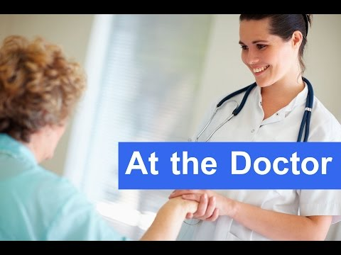 English Conversation: At the Doctor