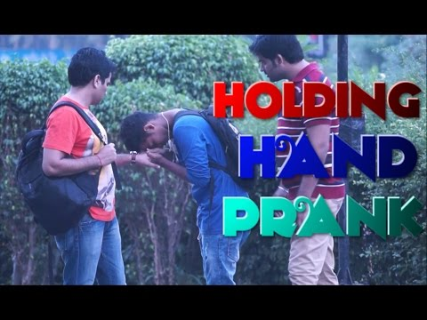 HOLDING STRANGER'S HAND PRANK  |  INDIAN EDITION